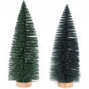 Fir Luh, 2 colors, H33cm, D12cm, green glitter &am